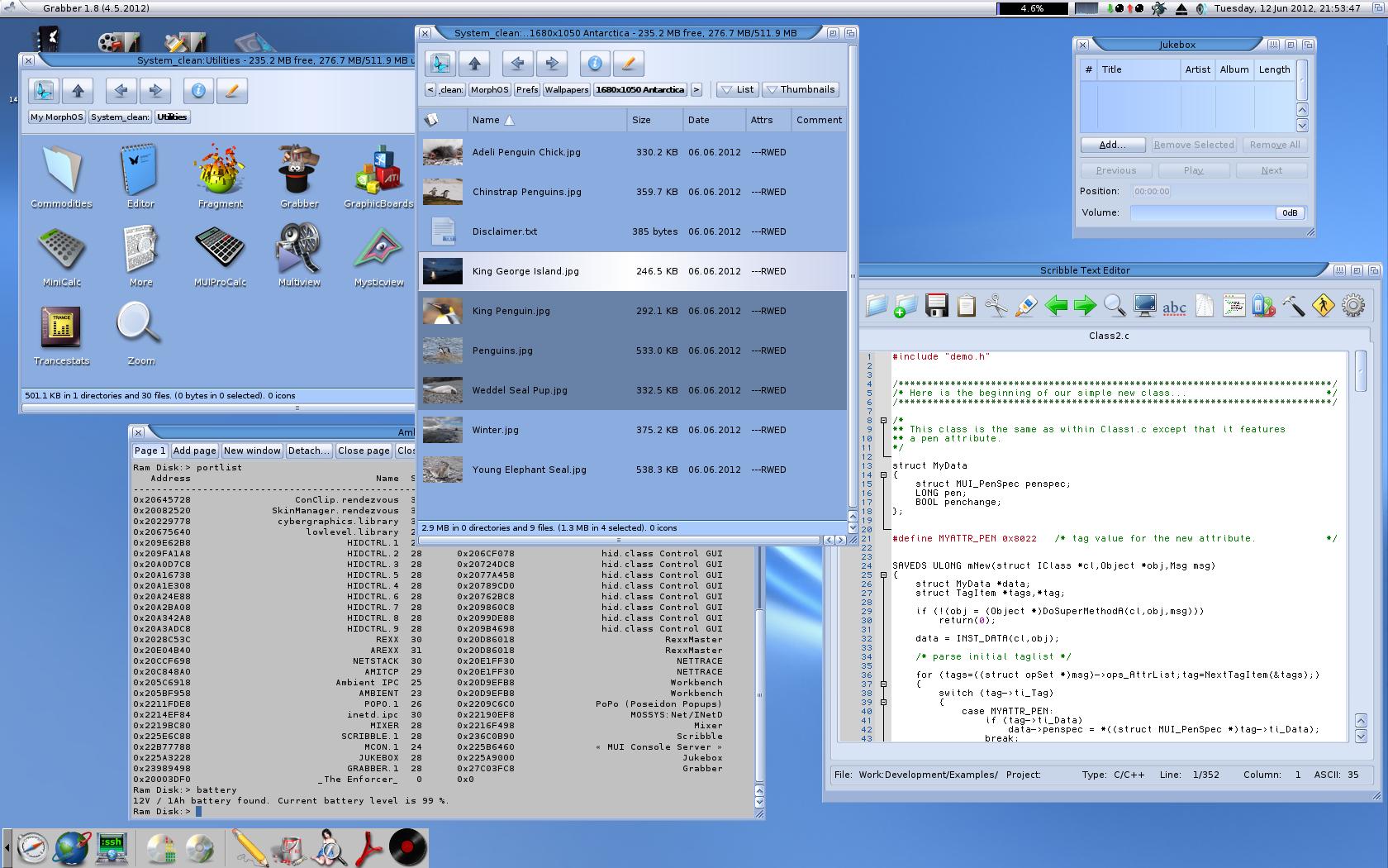MorphOS_Defaultdesktop